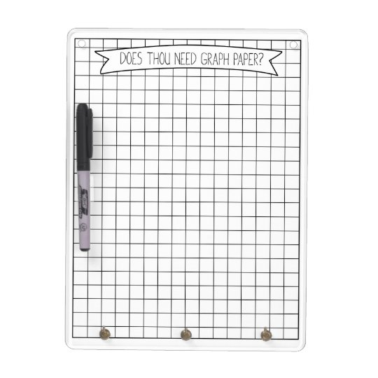 graph paper dry