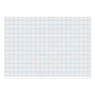 Graph Paper Large Business Card