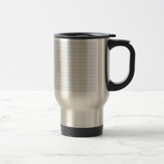 Graph Paper 15 Oz Stainless Steel Travel Mug