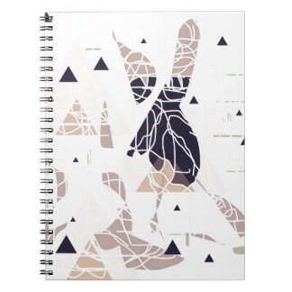 graph PAPER trifishes softly Design by SIRAdesign Notebook