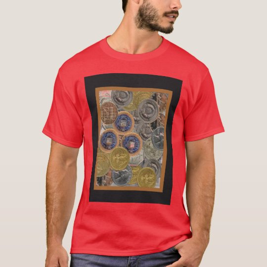 Graphic1 coins t shirt
