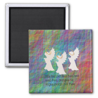 Graphic1prayer 2 Inch Square Magnet