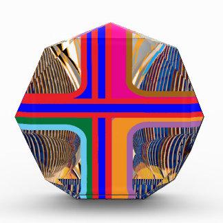 Graphic Abstract Line Art Acrylic Award