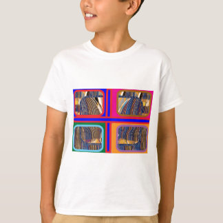 Graphic Abstract Line Art T-Shirt
