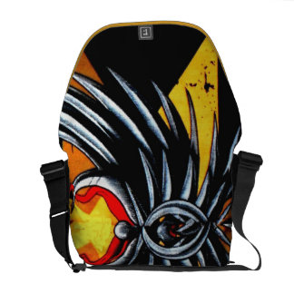 Graphic Art Bag Courier Bags