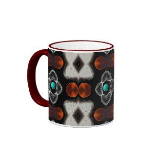 Graphic Art - Black & Red Coffee Mug