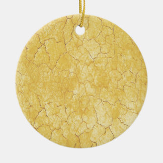 Graphic Art Marble Texture. Water Colour Effect Ceramic Ornament