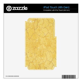 Graphic Art Marble Texture. Water Colour Effect iPod Touch 4G Skins