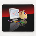 Graphic Art Mouse Pad