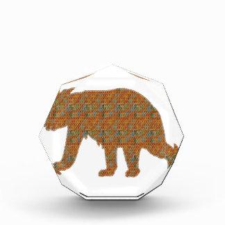 Graphic Art on Zoo  Bear WildAnimal Pet Acrylic Award