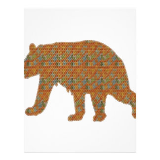Graphic Art on Zoo  Bear WildAnimal Pet Letterhead
