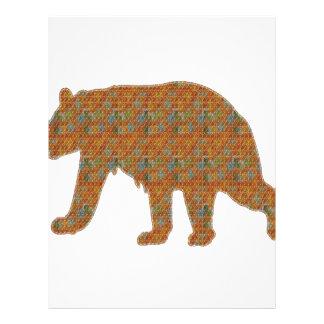 Graphic Art on Zoo  Bear WildAnimal Pet Letterhead
