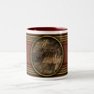 Graphic Artist - I'd like to buy a vowel Two-Tone Coffee Mug