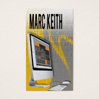Graphic Artist Illustrator Digital Artist Business Card