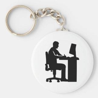 Graphic artist keychain
