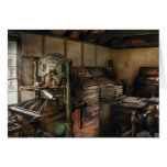 Graphic Artist - The Printing Shop Greeting Card