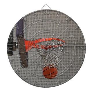 Graphic Basketball Hoop Dartboard