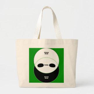 Graphic Bears Canvas Bag
