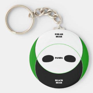 Graphic Bears Keychain