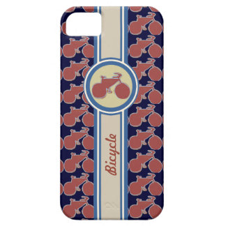 graphic bicycle label iPhone SE/5/5s case