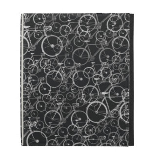 graphic bikes ~b&w iPad case