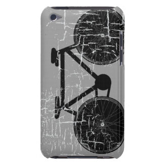 graphic black bicycle art Case-Mate iPod touch case