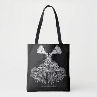 Graphic chemical imbalance tote bag