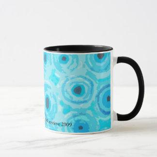 Graphic Circles - BLUE Mug