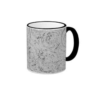 Graphic Circles - SILVER Ringer Mug