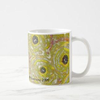 Graphic Circles - YELLOW Coffee Mug