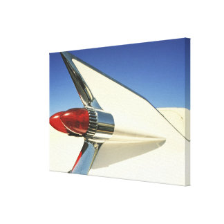 Graphic: Close-up of fin and taillight on Canvas Print