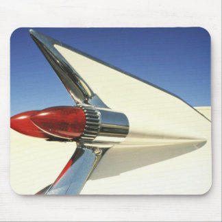 Graphic: Close-up of fin and taillight on Mouse Pad