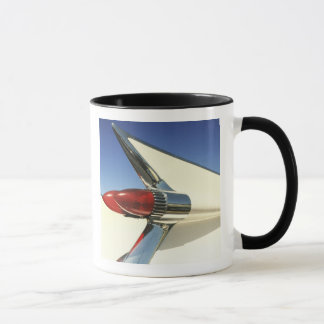 Graphic: Close-up of fin and taillight on Mug