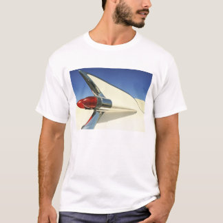 Graphic: Close-up of fin and taillight on T-Shirt