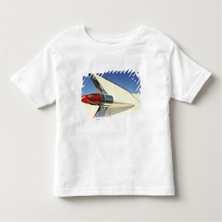 Graphic: Close-up of fin and taillight on Toddler T-shirt
