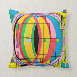 Graphic Colour Throw Pillow