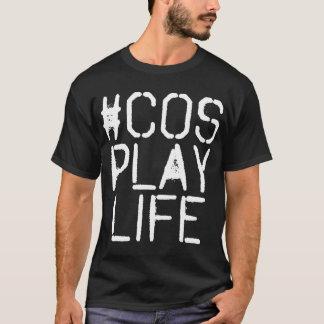 Graphic #CosplayLife Dark T-Shirt