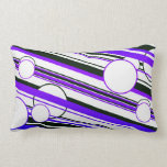Graphic cushion in PUR-polarizes color Throw Pillow