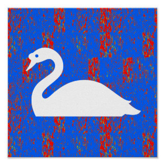 Graphic decorations  Duck Swan Geese Sea Lake Rive