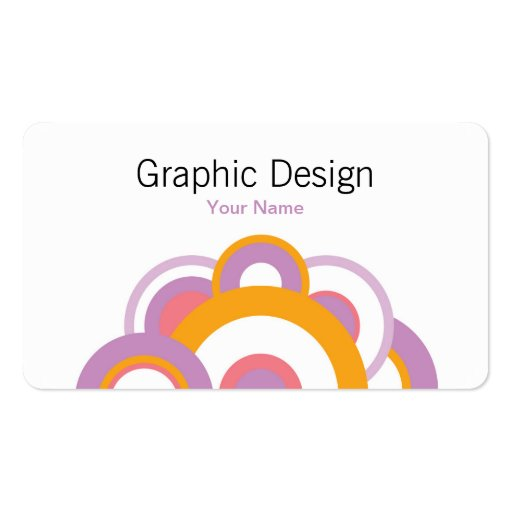 Graphic Design Double Sided Standard Business Cards Pack