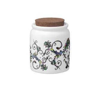 Graphic Design Candy Jars