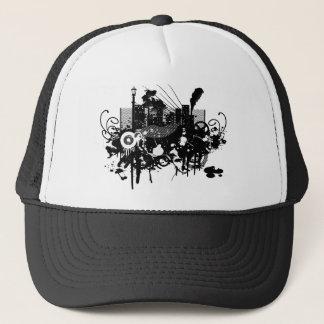 Graphic Design City Skyscraper! Trucker Hat