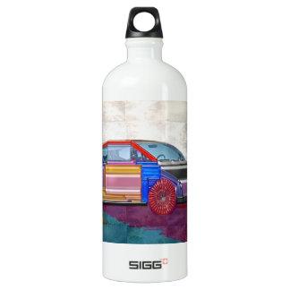 Graphic Design: Exotic Car Aluminum Water Bottle