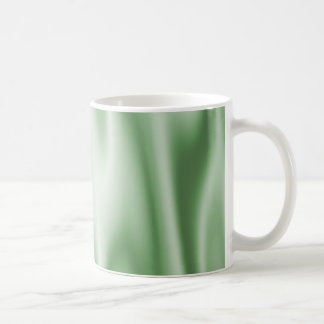 Graphic design of Light Green Satin Fabric Coffee Mug