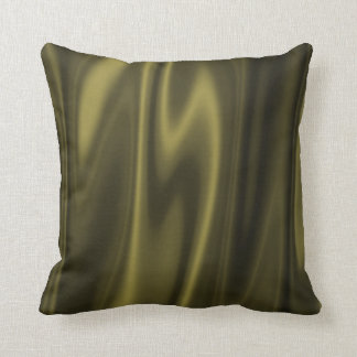 Graphic design of Olive Green Fabric Throw Pillow