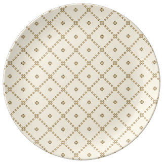 Graphic Design Porcelain Plate