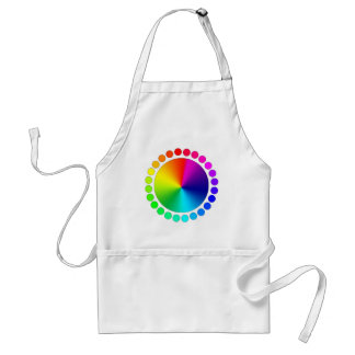 Graphic Designer Artist Color Wheel Adult Apron