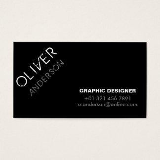 Graphic Designer - Business Cards