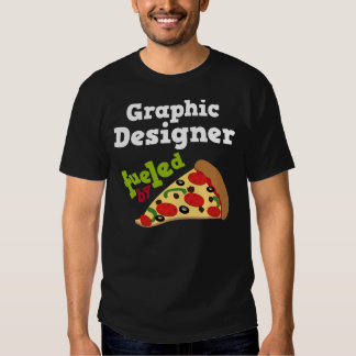 Graphic Designer (Funny) Pizza T Shirt