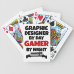 Graphic Designer Gamer Bicycle Playing Cards